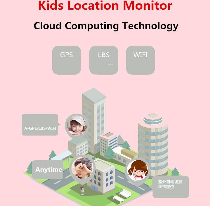 Reloj GPS Q200 para niños