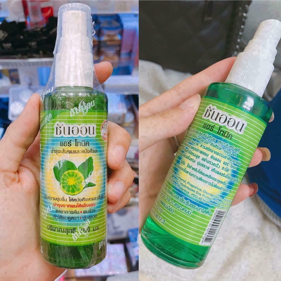 Combo tinh dầu bưởi xịt mọc tóc Thái Lan