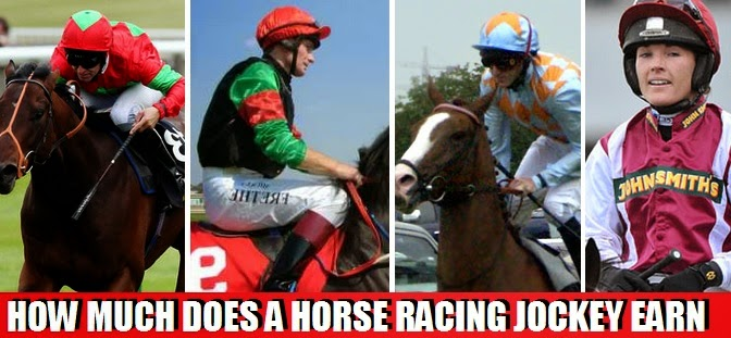 salaries of Horse jockey per race