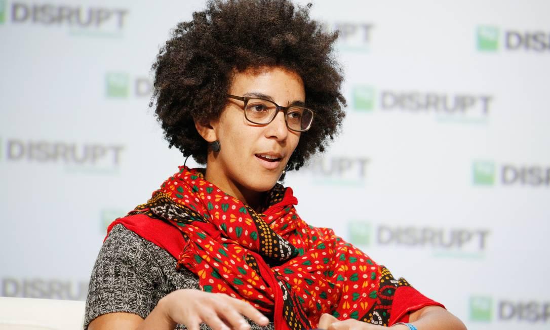 Timnit Gebru foi demitida após enviar email a grupo de funcionários questionando 'silenciamento de vozes marginalizadas' Foto: Kimberly White / By TechCrunch