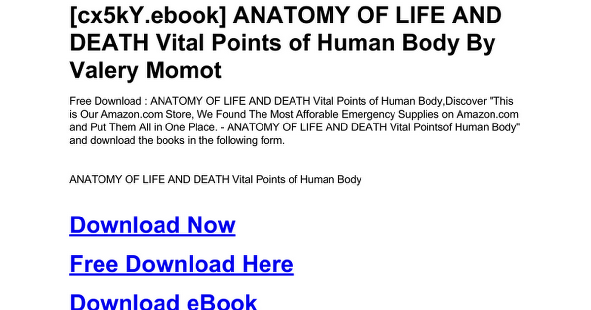 anatomy-of-life-and-death-vital-points-of-human-body.doc - Google Docs
