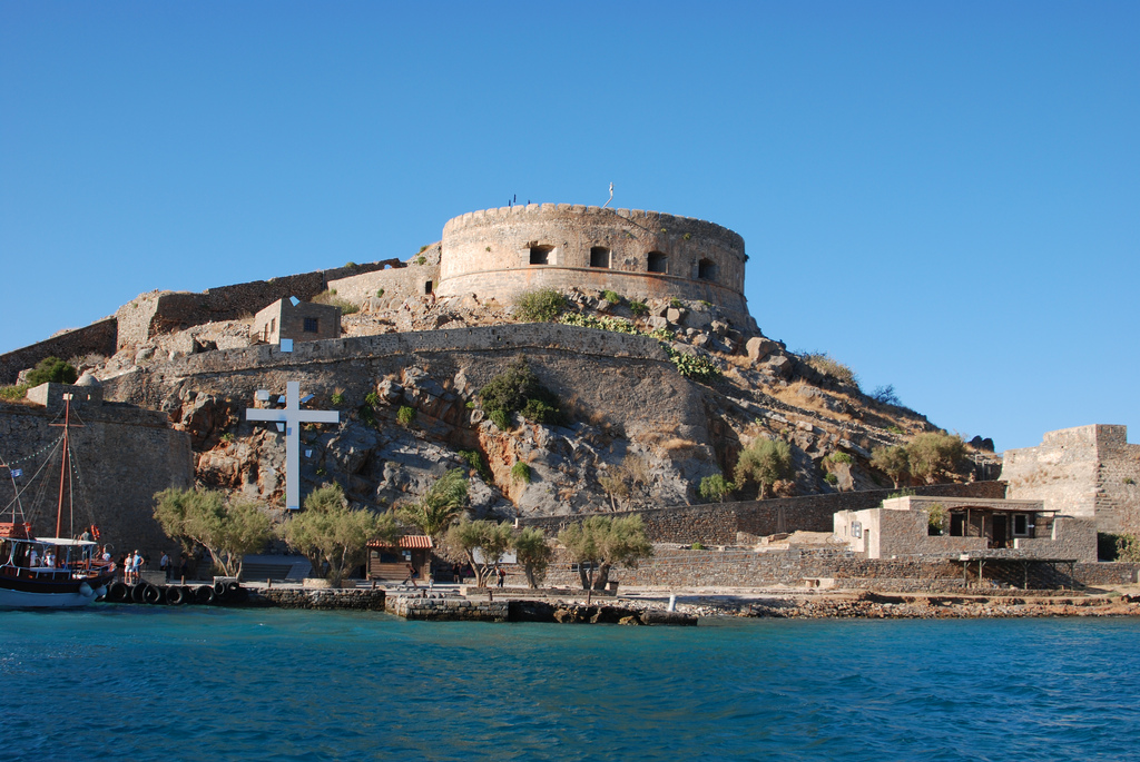 Spinalonga Island in Greece