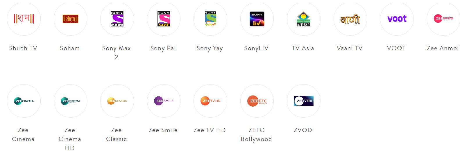 Sling TV Hindi Entertainment Channel