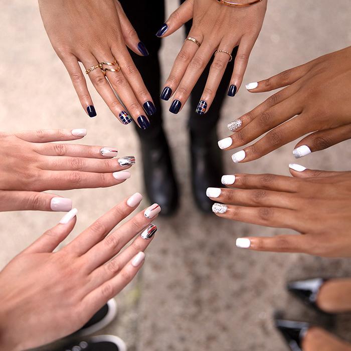Medium Length Nails Collection