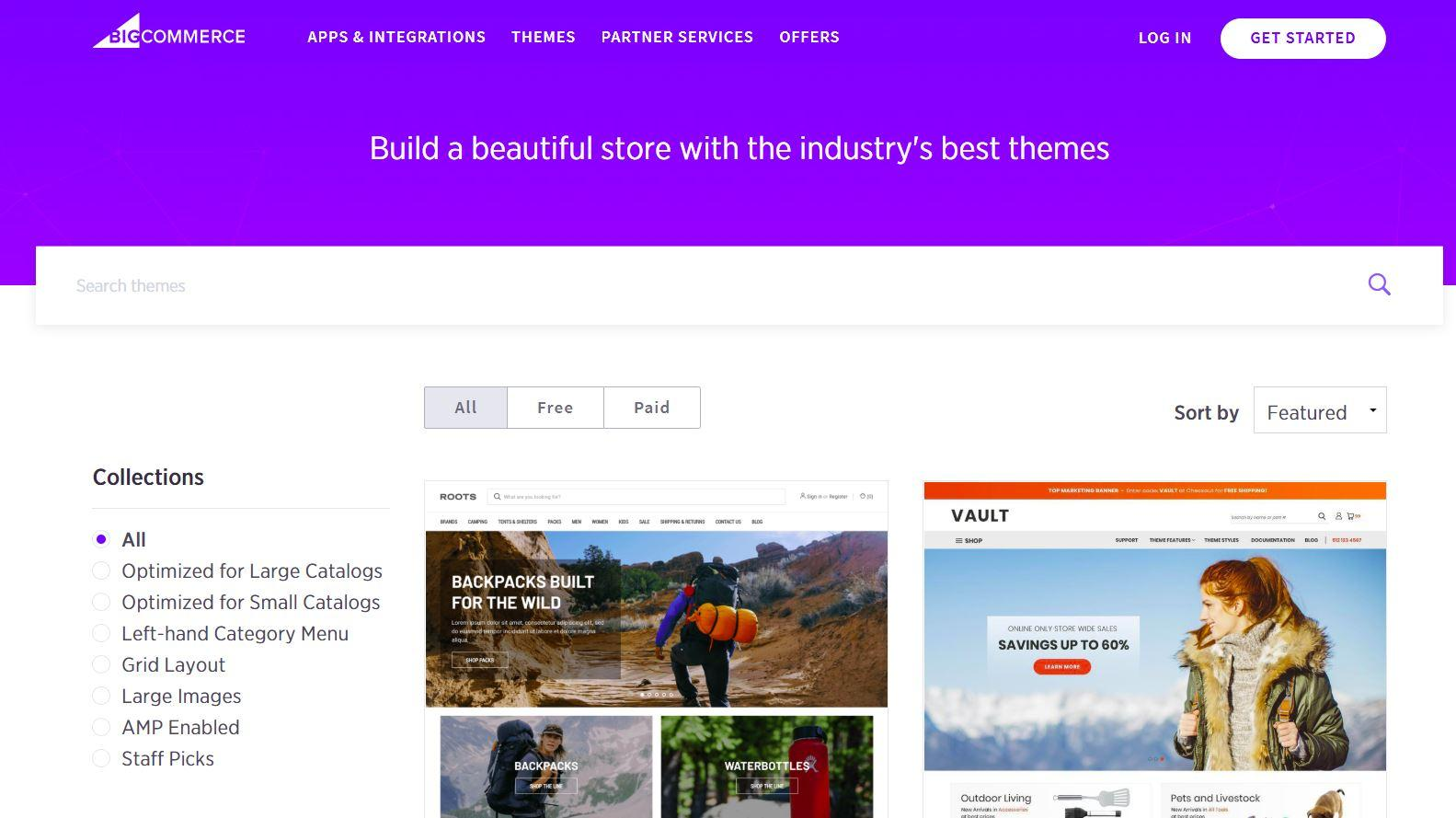 How to create a store on big commerce