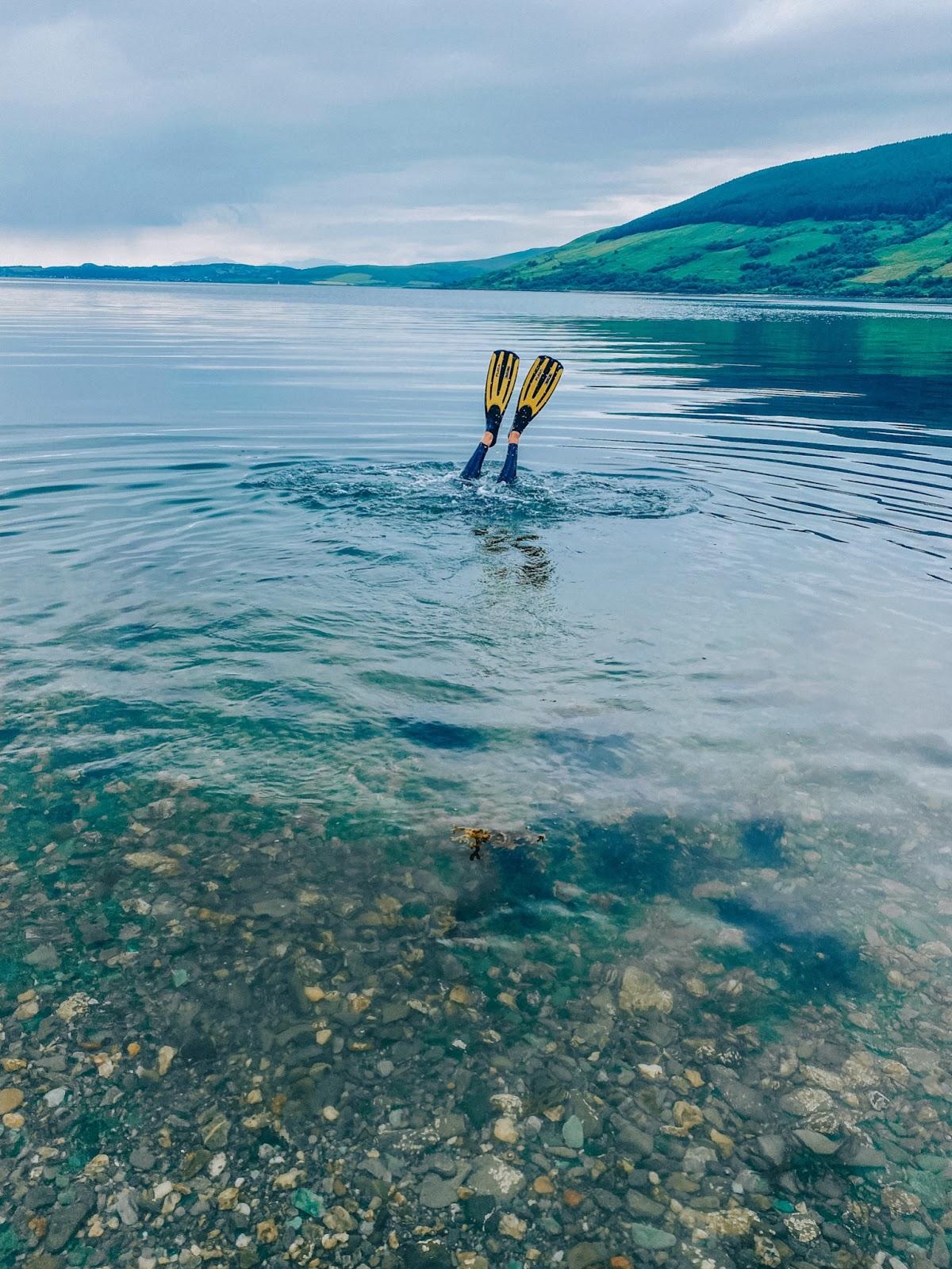 Wild Swimming in Scotland