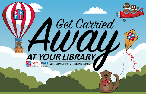Get Carried Away at Your Library Logo