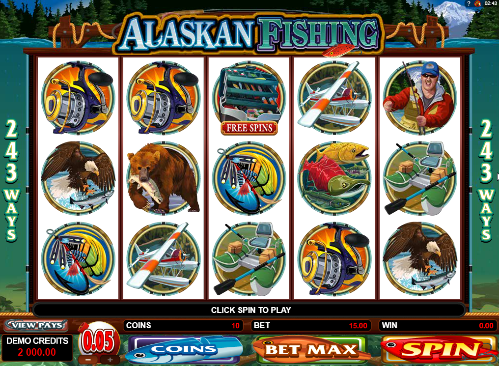 Alaskan Fishing Slots Machine Review