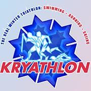 Kryathlon - The Real Winter Triathlon - Swimming & Running & Skiing