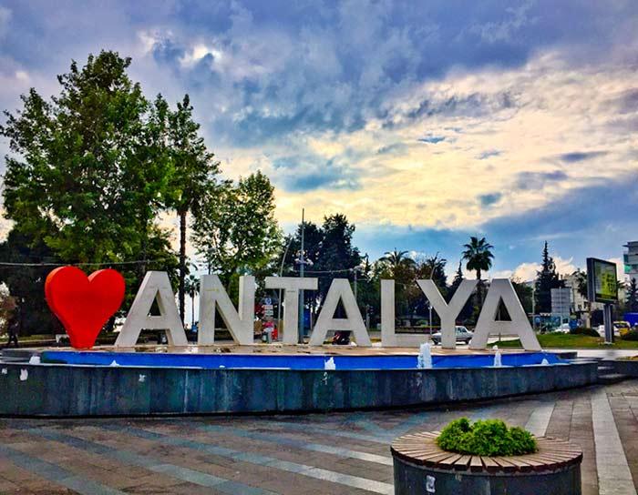 سفر به آنتالیا