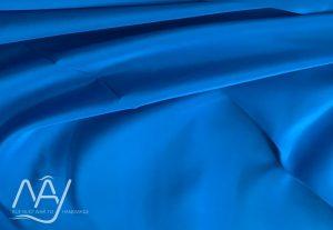 vải lụa tơ tằm bảo lộc màu xanh da trời