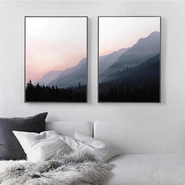 двойное изображение в интерьере