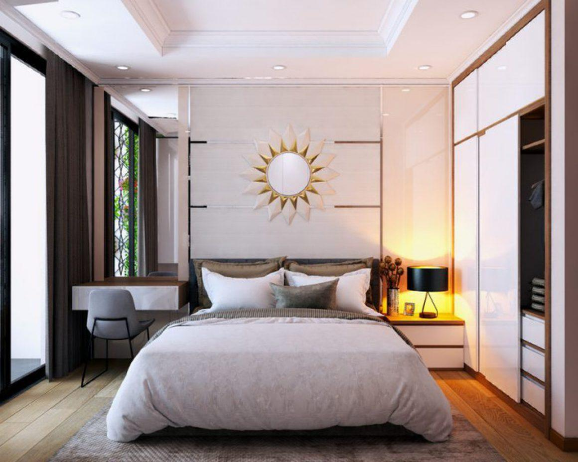 Nội thất phòng ngủ hiện đại đơn giản 6