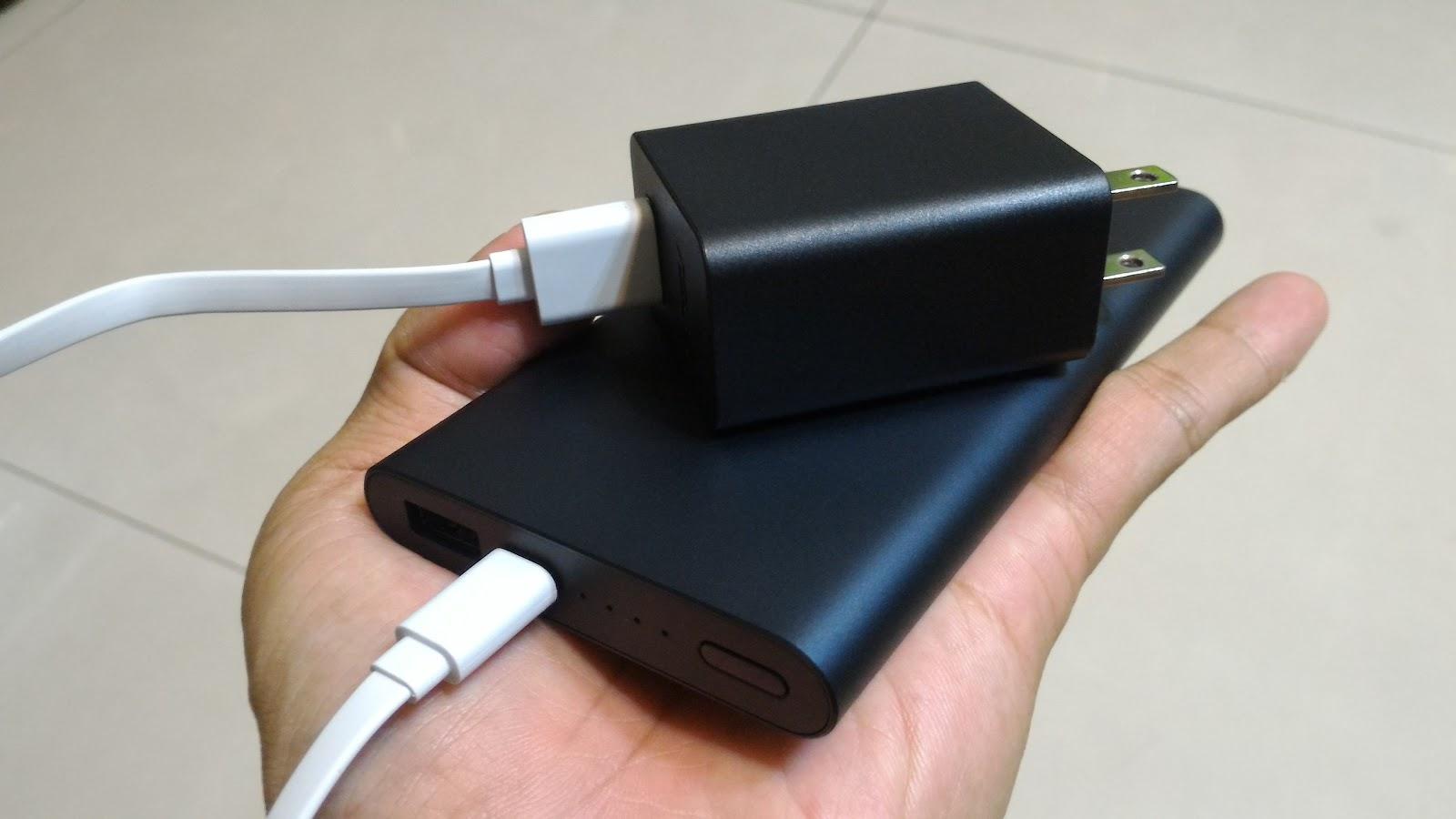 行動電源充電