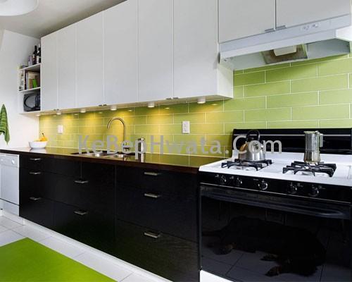 Tủ bếp Inox Acrylic cho không gian hiện đại