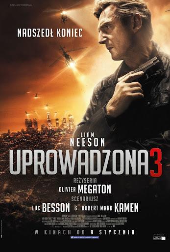 Polski plakat filmu 'Uprowadzona 3'
