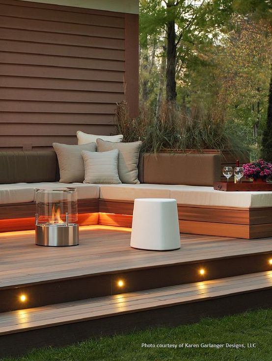 Outdoor spaces for a memorable summer, landscape lighting walking paths and stairs