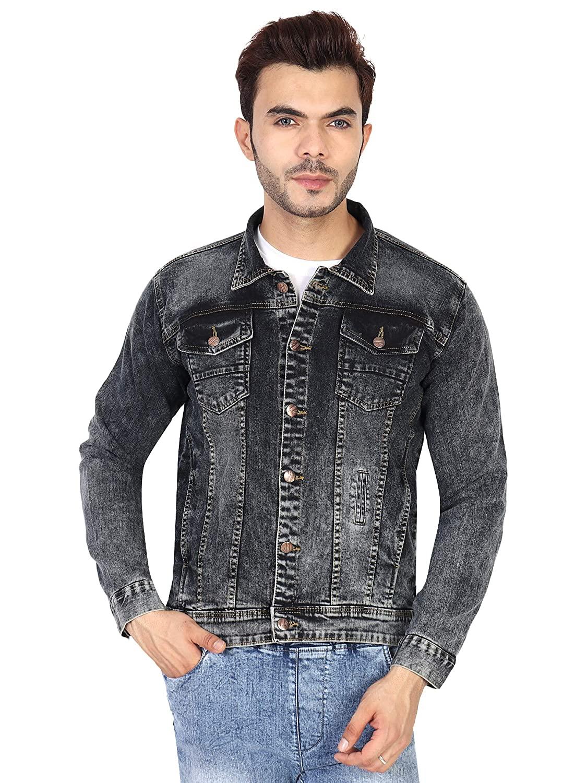 ICO Blue Star Solid Men's Denim Jacket