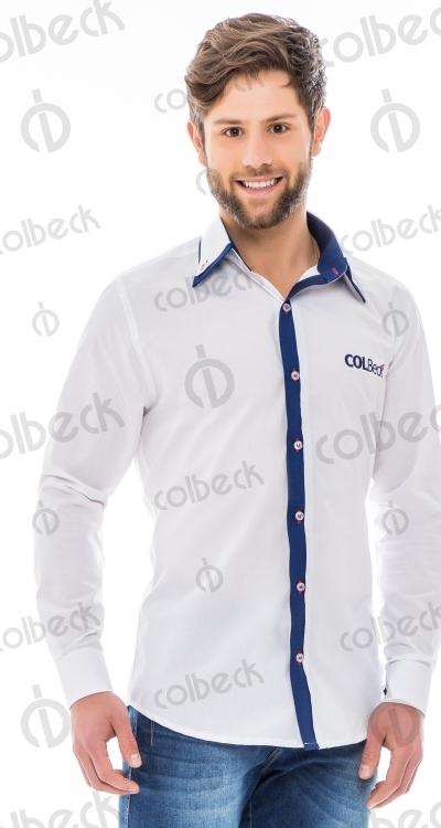 082335236b A camisa social é uma ótima escolha para aqueles que precisam apresentar  mais seriedade e formalidade no ambiente de trabalho.