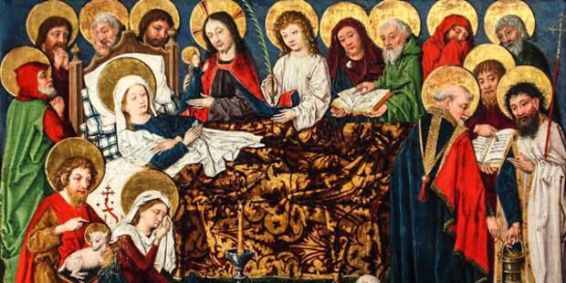 Tại sao có một bức ảnh Mẹ Maria Đồng Trinh đang ngủ?