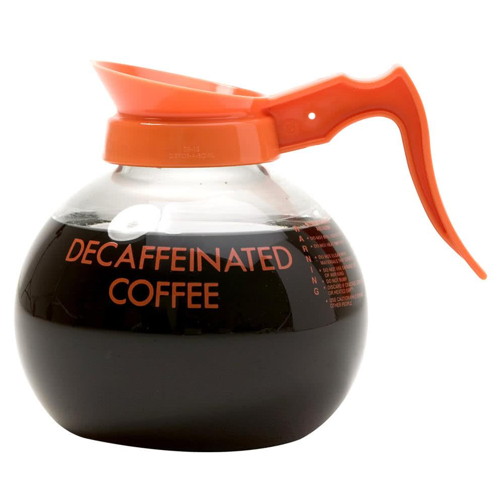 http://www.webstaurantstore.com/images/products/main/80182/331619/wilbur-curtis-70280200406-glass-decaf-coffee-decanter-with-orange-text-orange-imprint-and-decaf-only-logo-24-case.jpg
