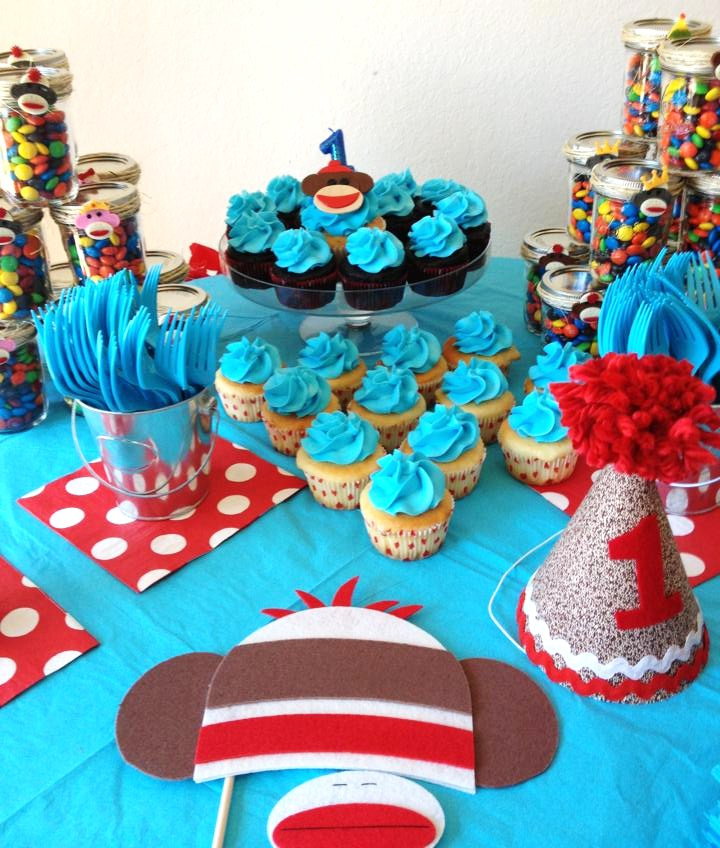 Sock Monkey 1st Birthday Party | This Sock Monkey 1st birthd… | Flickr