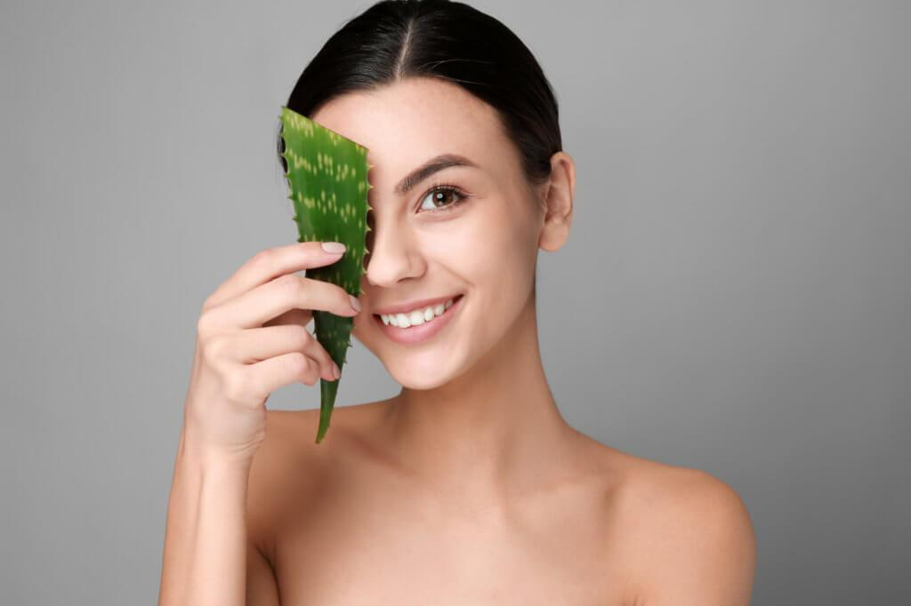 aloe vera for spotless skin