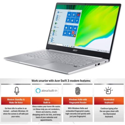 Acer swift 3 thin and light laptop
