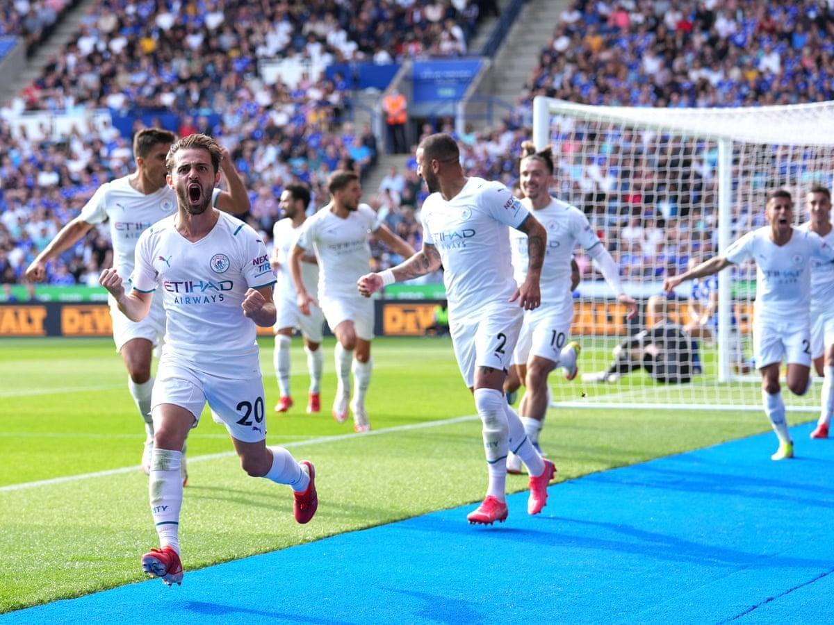 Manchester City đã bắt đầu vào phom