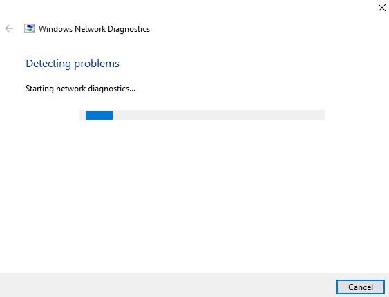 network troubleshooter program