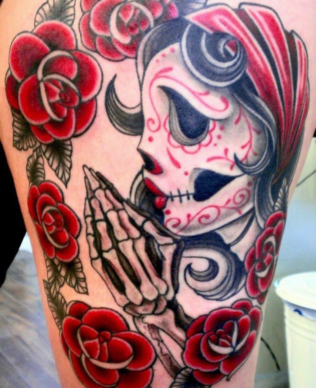 Day of the Dead, Dia De Los Muertos tattoo