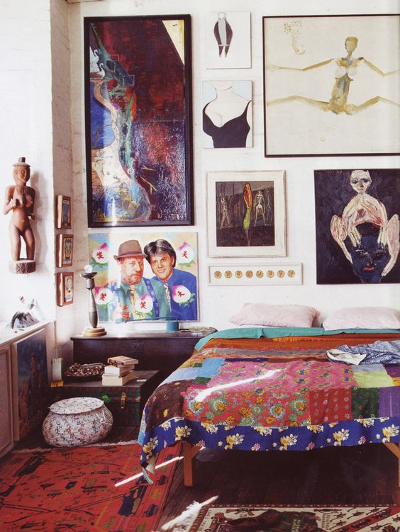 French-Inspired Bedroom Decor