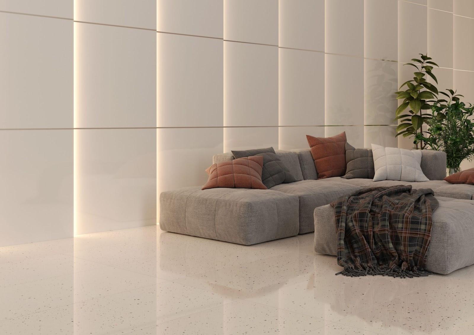 Luz e espaço são primordiais na hora de montar a sala de estar.
