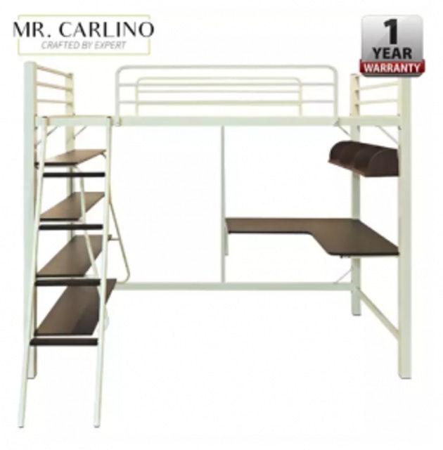 1. MR. CARLINO Loft Bed เตียง 2 ชั้น