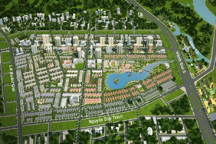 Vị trí địa lý của khu đô thị Đông Tăng Long