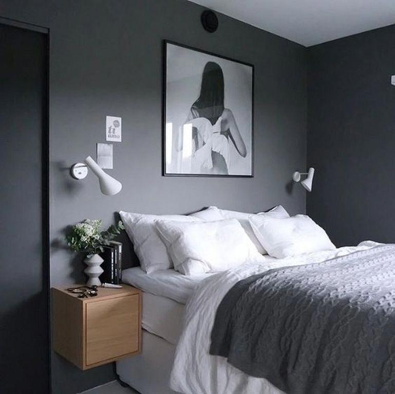 Cozy Gray Bedroom Design Ideas