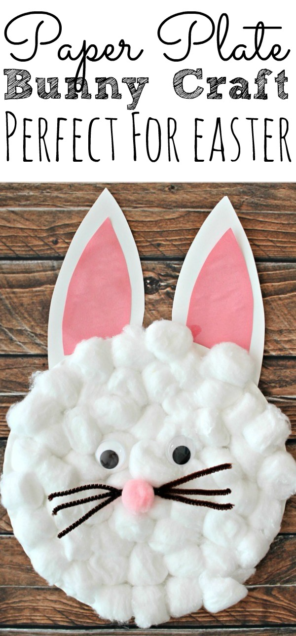 Easy Paper Plate Bunny Craft for Kids