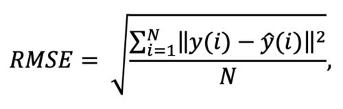 RMSE formula