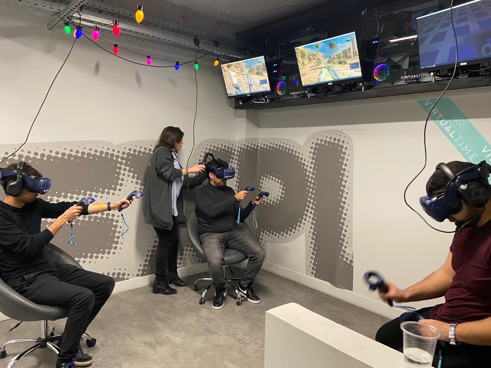 Mise en place d'un jeu VR pour trois joueurs