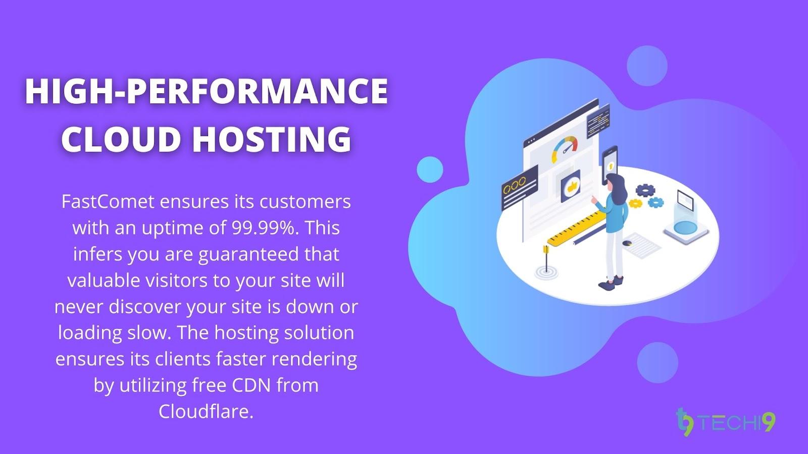 FastComet Managed Cloud Hosting - Performance & Speed