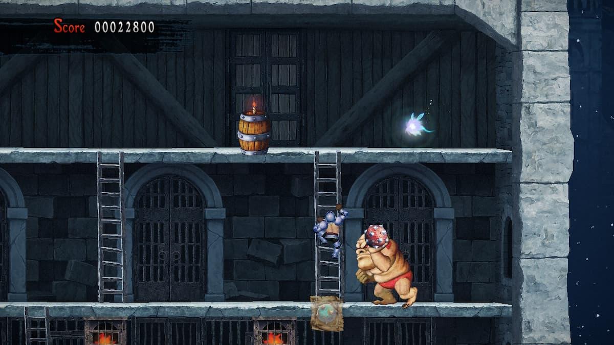 Ghosts 'n Goblins Resurrection Crystalline City Bee 8
