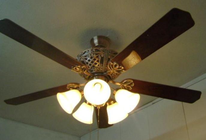 Kết quả hình ảnh cho Quạt trần đèn chùm