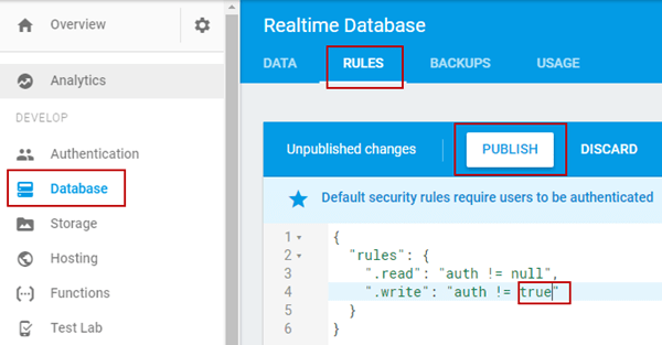 Real-Time Database