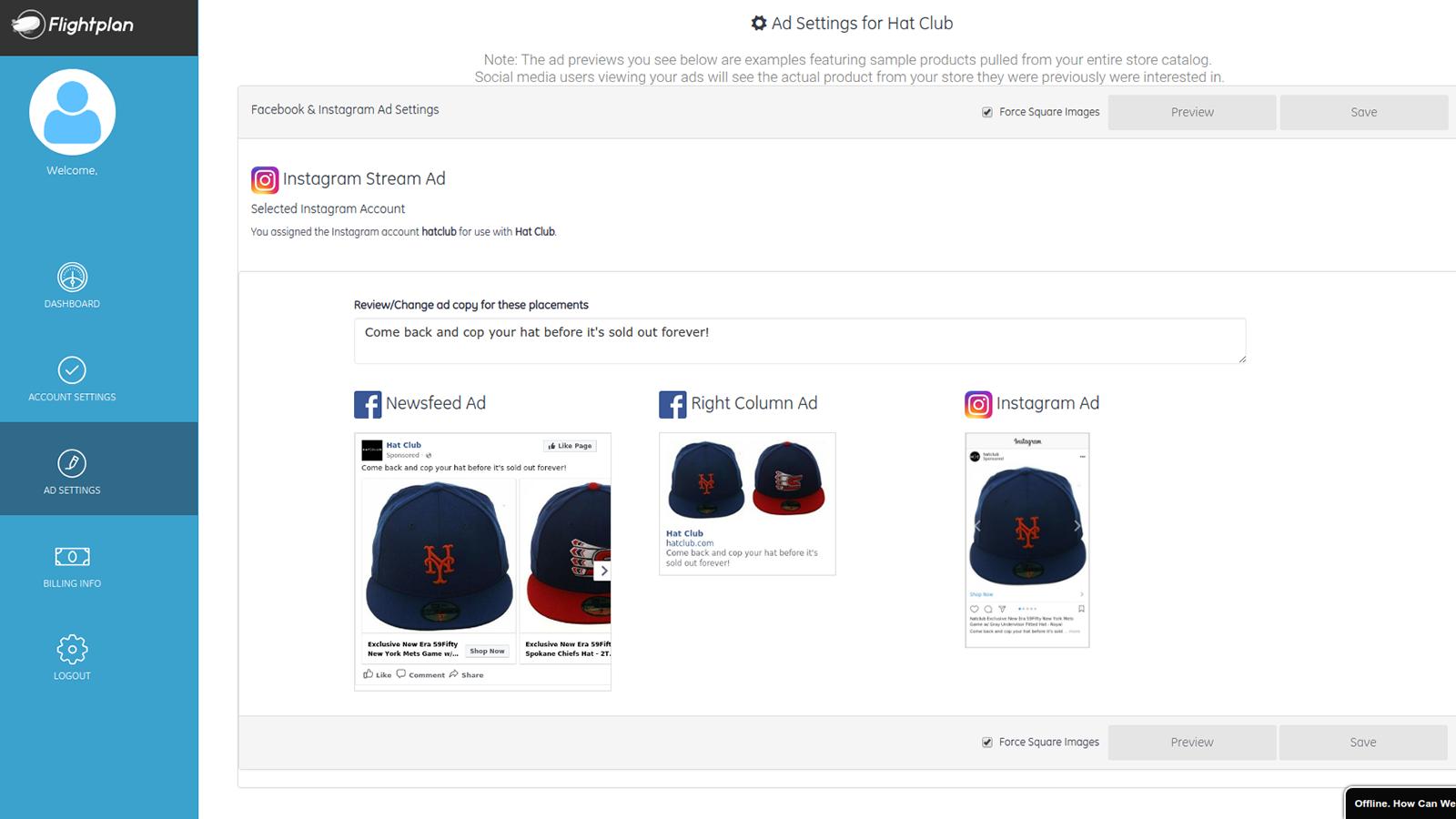 Shopify instagram app