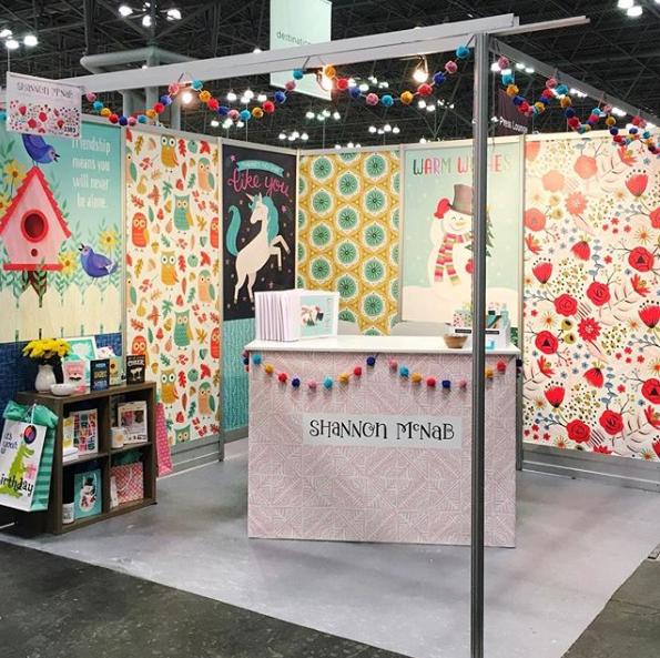 a custom trade show display