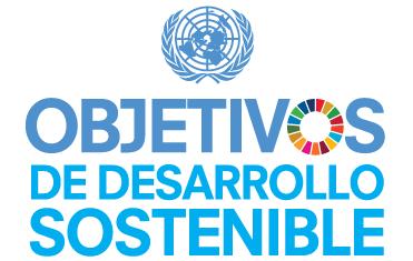 Logo con el emblema de la ONU para uso de las entidades de la ONU