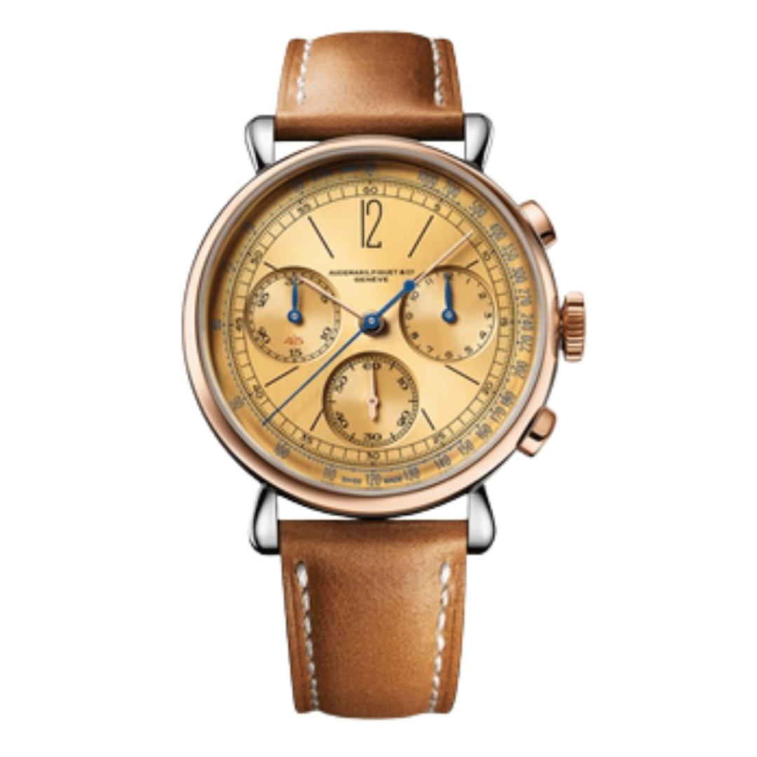 One Audemars Piguet watch.