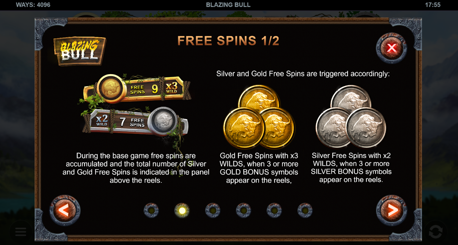 Blazing Bull a leading video slot game that you can play at Casoola Casino