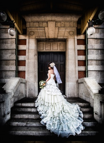 中央公会堂の結婚式写真