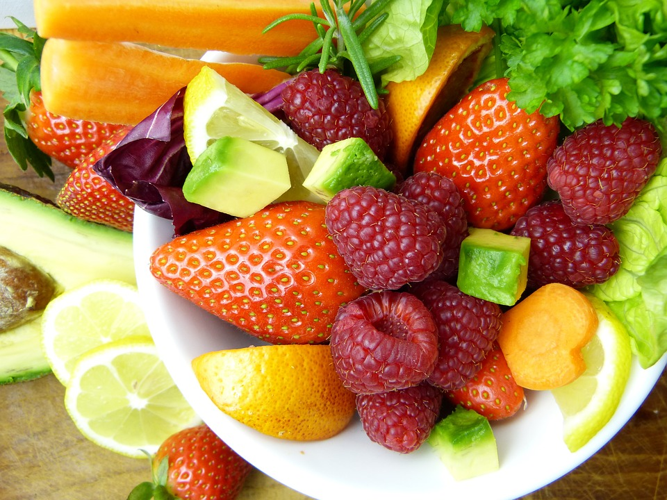 Bright, Vibrant Fruit